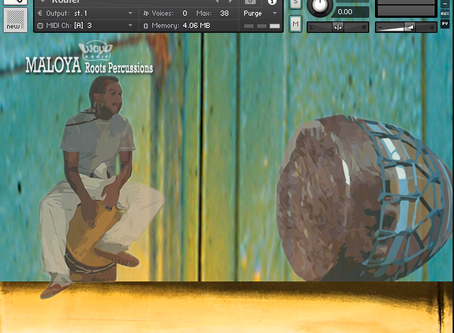 "Instruments ""Maloya roots percussions"" pour Kontakt"