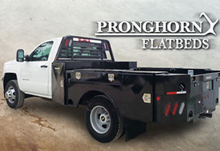 Pronghorn Mounted-Truck-with-Backing-Log