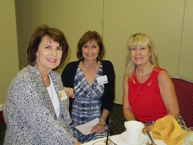 Teresa Gamble, Paula Hawkins & Anita Smi