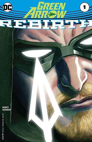 Green Arrow Rebirth #1 Cover