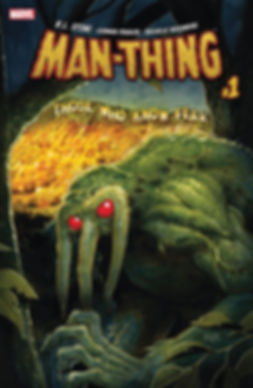 Man-THing #1 Cover