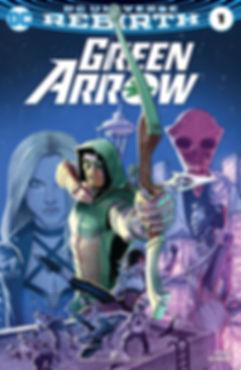 Green Arrow 2016 #1 Cover
