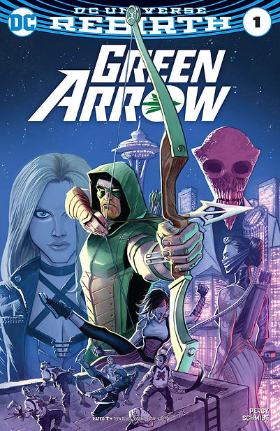 Green Arrow 2016 #1 Cover