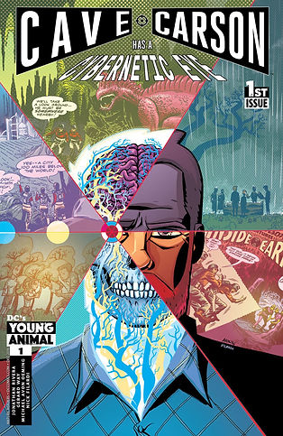Cave Carson Has A Cybernetic Eye #1 Cover