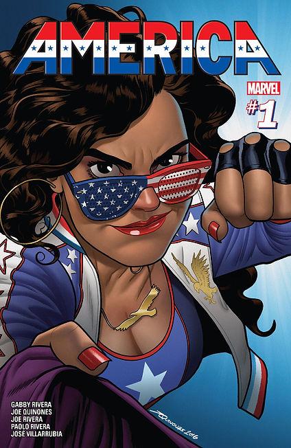 America (2017) #1 Cover