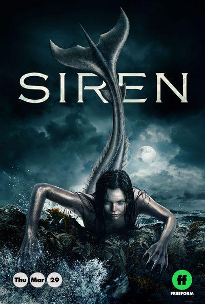 Siren Freeform Poster