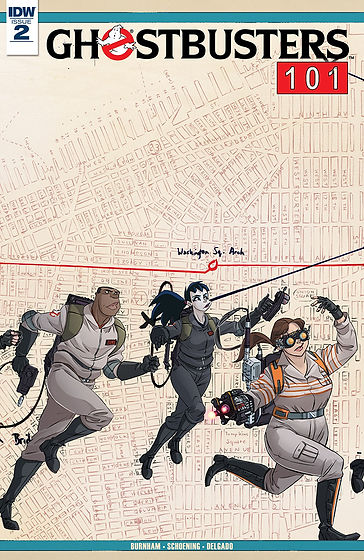Ghostbusters 101 #2 Cover