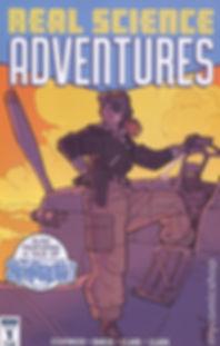 Real ScienceAdventures #1 Cover