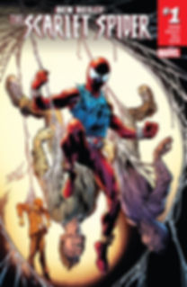 Ben Reilly: The Scarlet Spider #1 Cover
