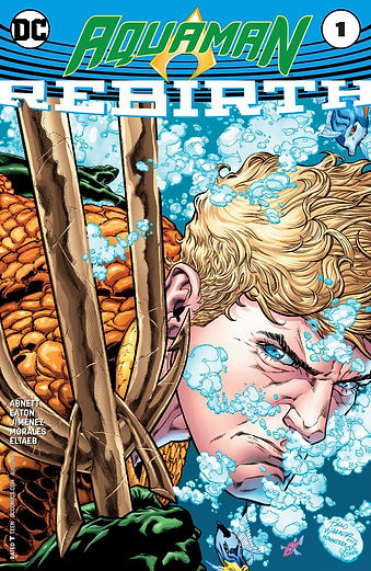 Aquaman Rebirth #1 Cover