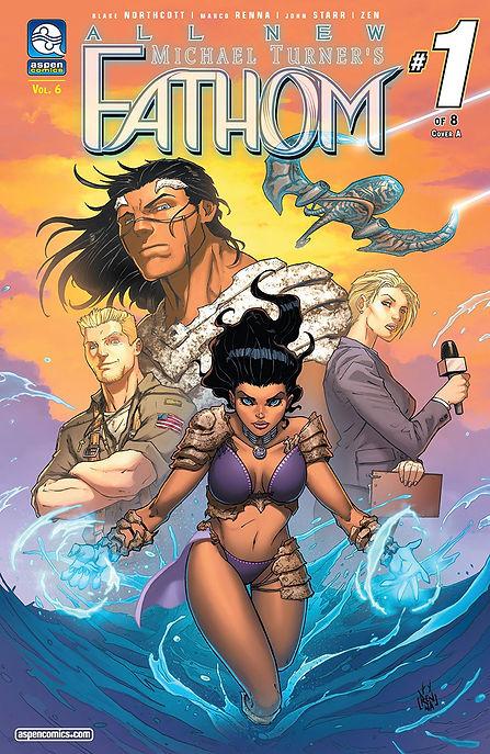 All New Fathom #1 Cover