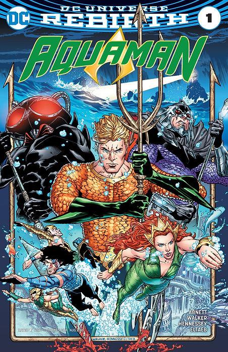 Aquaman 2016 #1 Cover