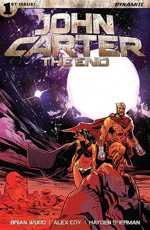John Carter: The End #1 Cover
