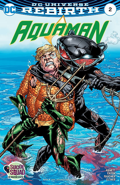 Aquaman (2016) #2 Cover