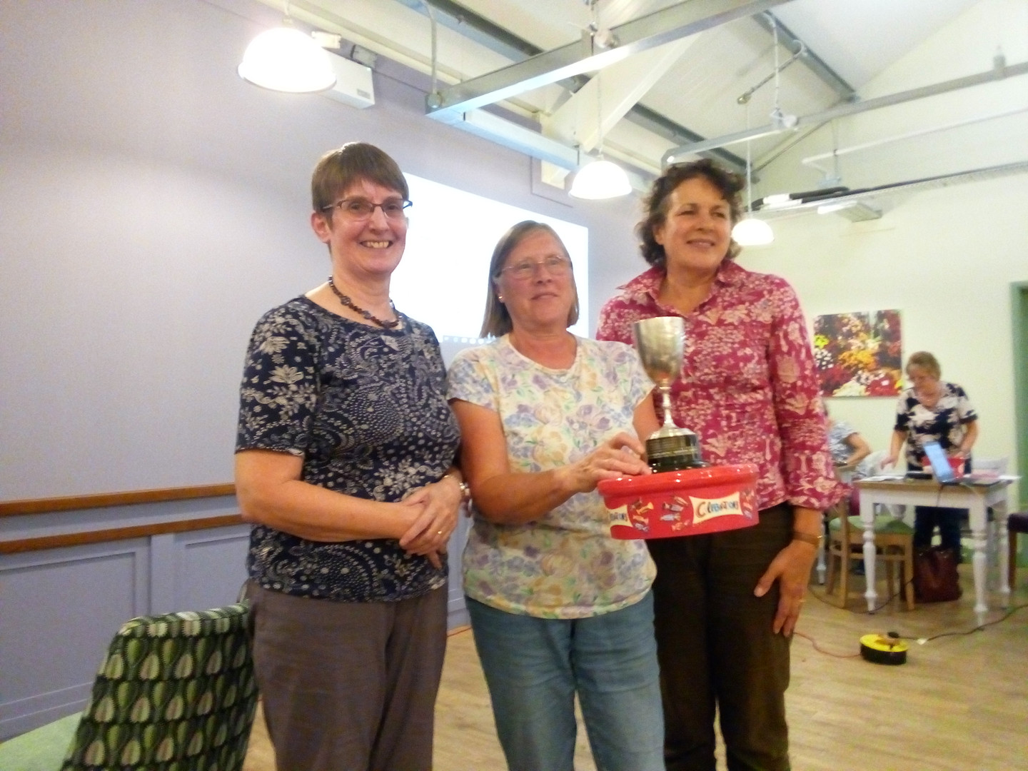 Perfect team work from Diane, Pauline and Lorraine wins the 2018 Inter-Society Quiz for WHA