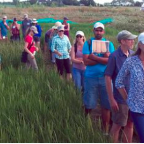 Johnny's Selected Seeds hosts farm tours for Student Organic Seed Symposium