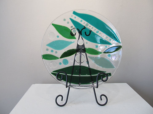 Glass Plate by Connie Matusoff