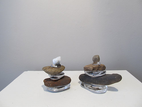 Glass Paperweights by Birch