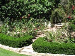 Family Rose Garden in Santa Barbara, California