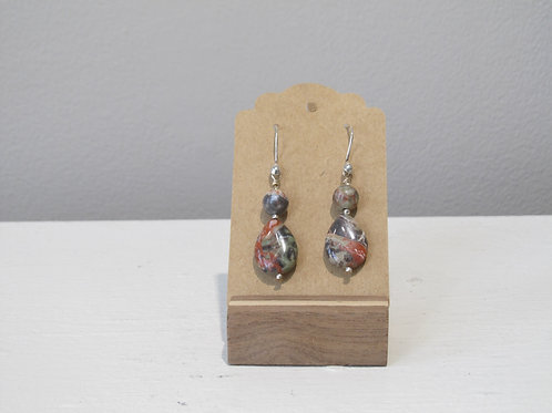Jasper Drop Earrings