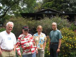 Uncle Billy Paris, Bhagwan, and Debbie Hedemann