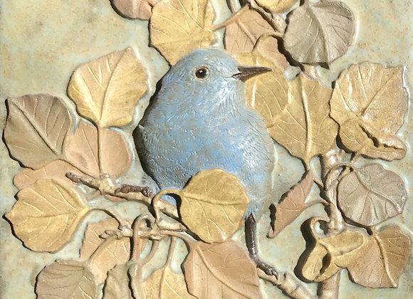 """6""""x6"""" Bluebird Glazed Tile"""