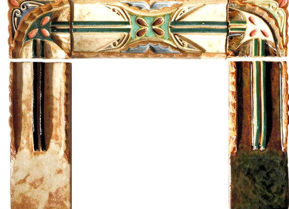 "2""x6"" Craftsman Style Borders, glazed"