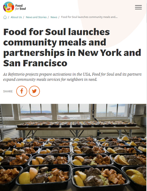 Food For Soul Launches in Harlem