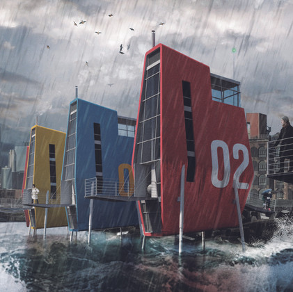 Compact Home for Coastal Resilience
