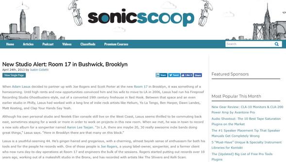 """""""New Studio Alert: Room 17 in Bushwick, Brooklyn"""""""