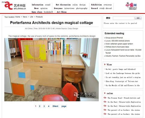 """Porterfanna Architects design magical cottage"""