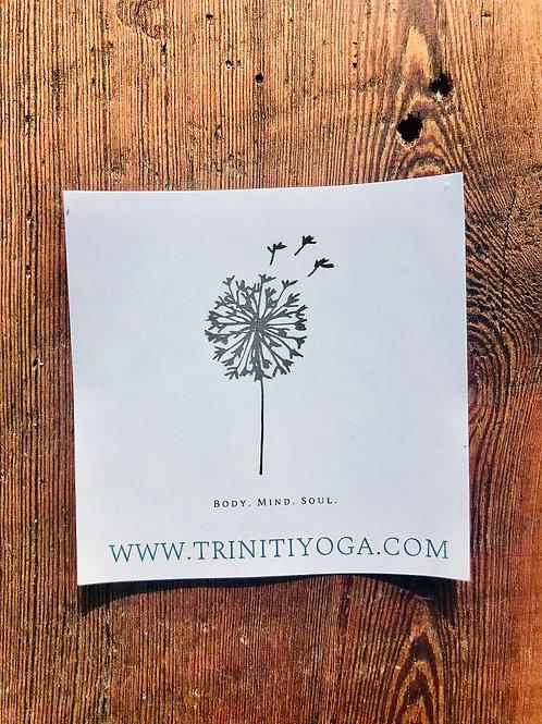 Triniti Yoga Sticker