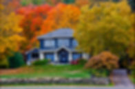 Fall House at Port Sydney, Ontario, Cana