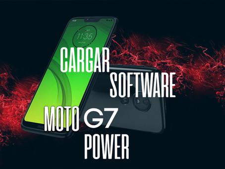 ¡CARGAR SOFTWARE  MOTOROLA G7 POWER!