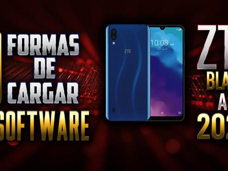 ¡3 FORMAS DE CARGAR SOFTWARE - ZTE BLADE A5 2020!