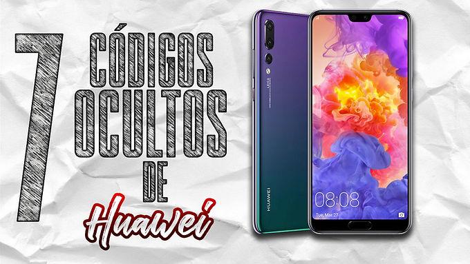 ¡ 7 CÓDIGOS OCULTOS DE HUAWEI !