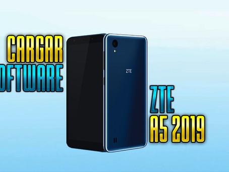 ¡CARGAR SOFTWARE ZTE BLADE A5 2019!