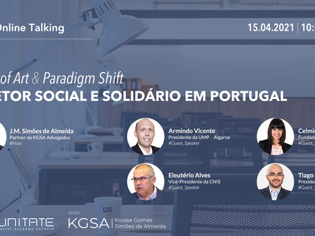 State of Art & Paradigm Shift | O Setor Social e Solidário em Portugal (Online Talking)
