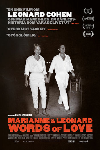 Marianne and Leonard poster 70x100 LOW.j