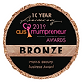 BRONZE WINNER Hair & Beauty Award 2019 Australian Ausmumpreneur Awards