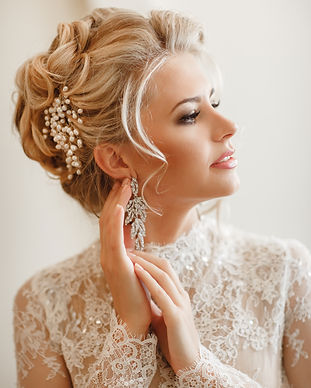 Beautiful Bride Portrait wedding makeup