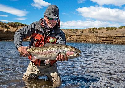 Barrancoso River rainbow trout, Jurassic Lake