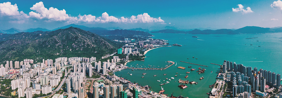 Aerial Shots for Tuen Mun properties project