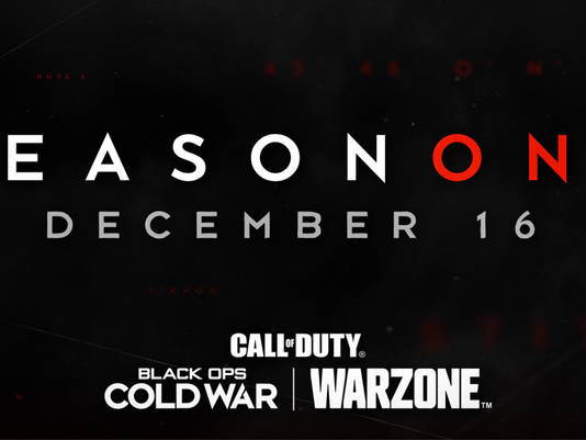 'Season One' For Call Of Duty: BlackOps Cold War & Warzone Coming December 16