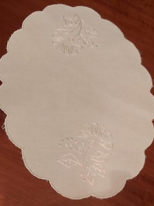 Ovales Deckchen