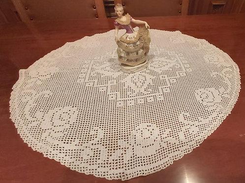 Weisses Deckchen