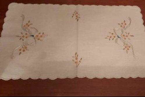 handgesticktes Deckchen
