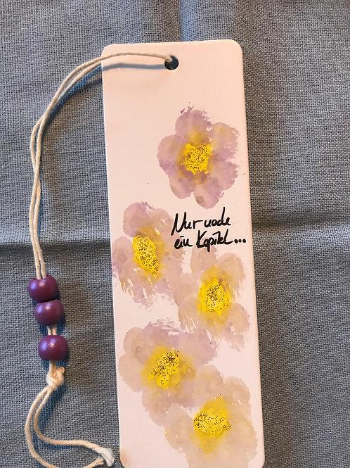 Lesezeichen Blume
