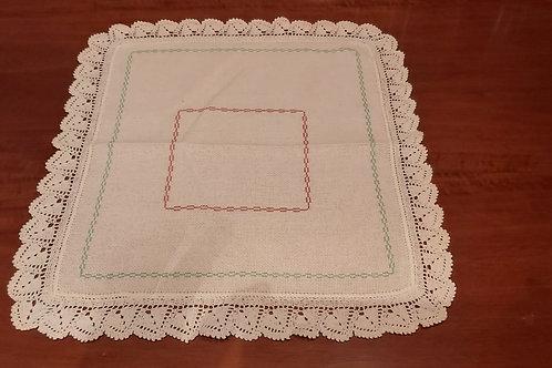 Quadratisches Deckchen