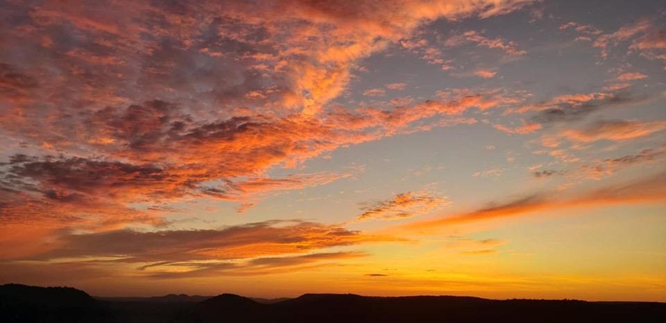 Retreat sunrise